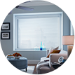 Dynamic Window Coverings - silhouette