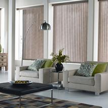 Dynamic Window Coverings - vertical